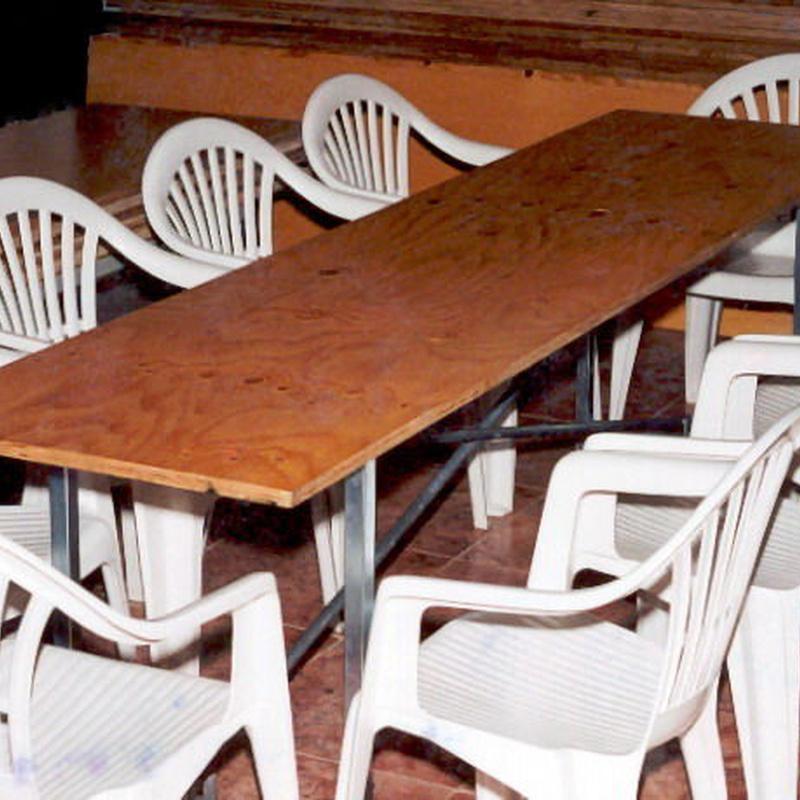 Alquiler tablero mesa Llanes
