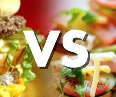 FAST FOOD vs. CARE FOOD