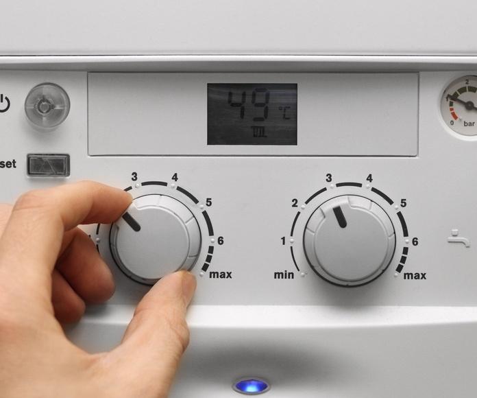 Agua caliente sanitaria: Servicios de ACC Climatización, S.L. - Centro Colaborador de Gas Natural Servicios