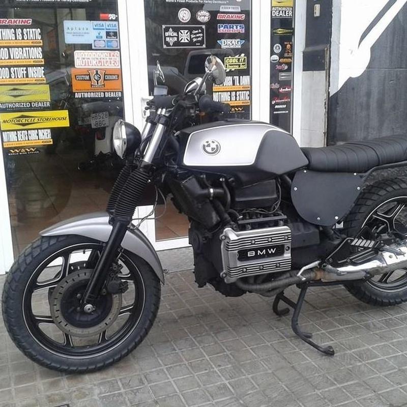 personalizacion motos en valencia,transformacion motos,bmwk75,scrambler,motos custom en valencia
