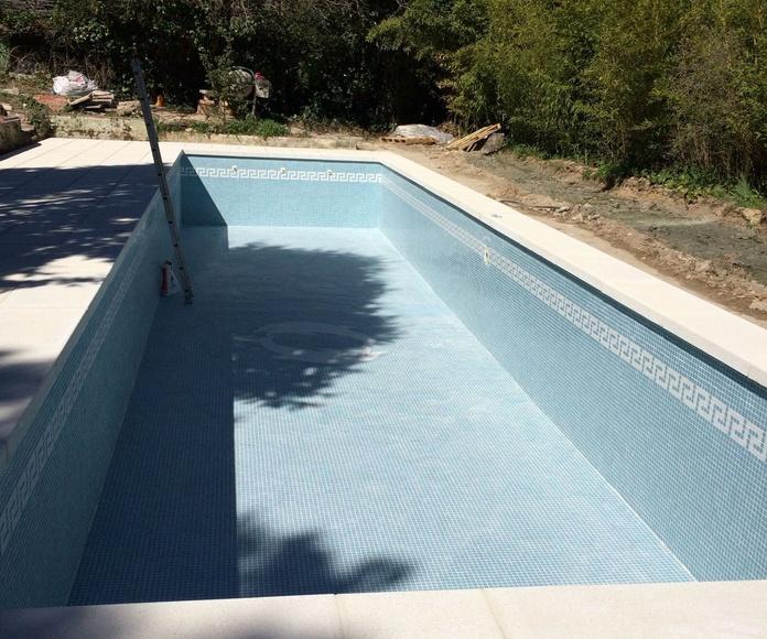 reforma de piscina en Madrid