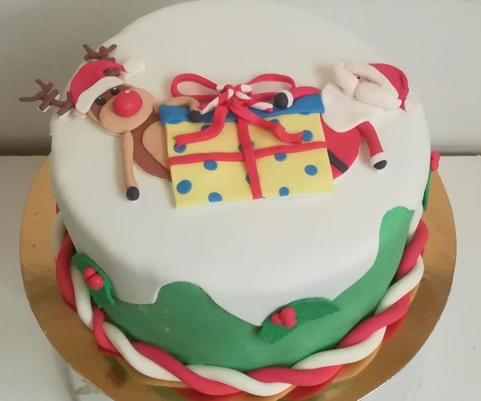 tarta navidad 2