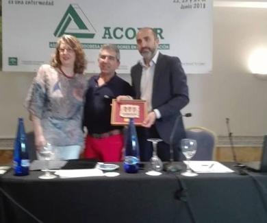 Miguel Ángel Palacios Navarro, psicólogo de APLIJER, participa en el XXX aniversario de ACOJER