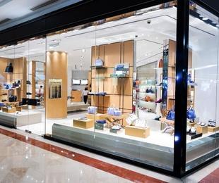 Cristalería para instalaciones comerciales