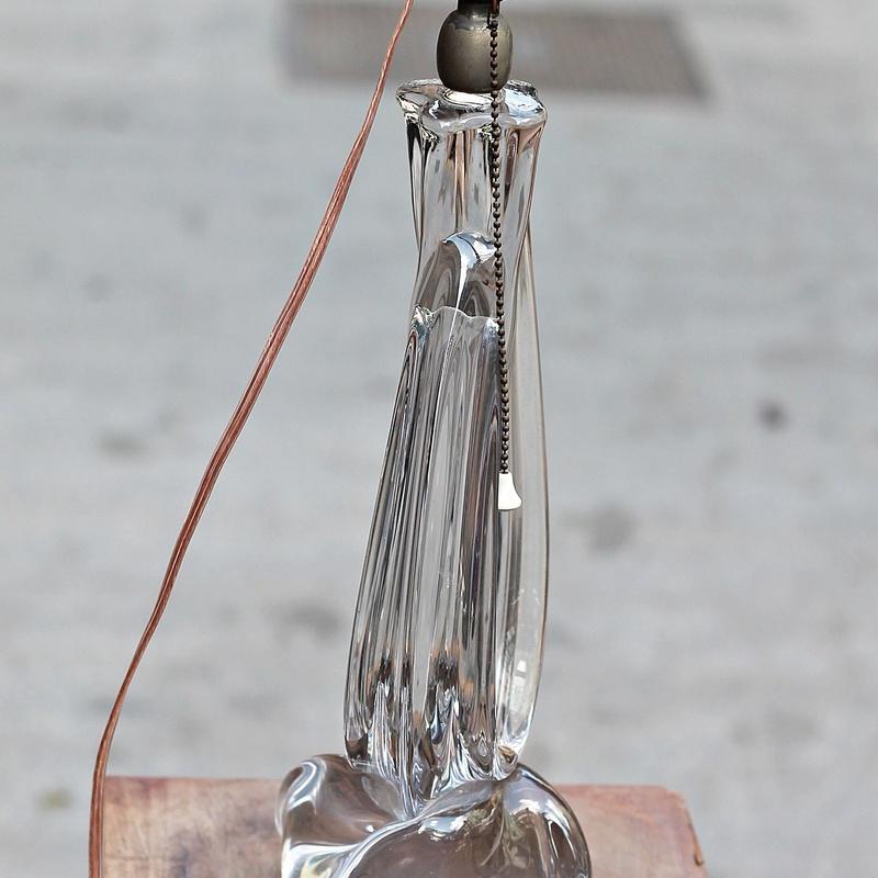 Lámpara de cristal francés años 50.:  de Ruzafa Vintage