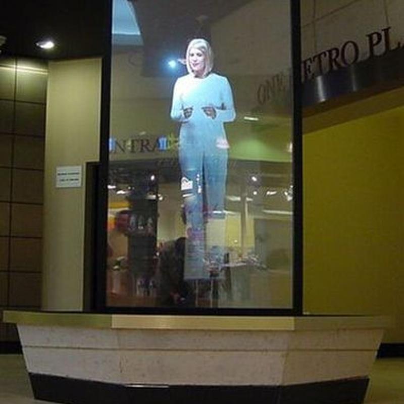 Vinilo holográfico: Nuestros servicios de Gorp Difusión