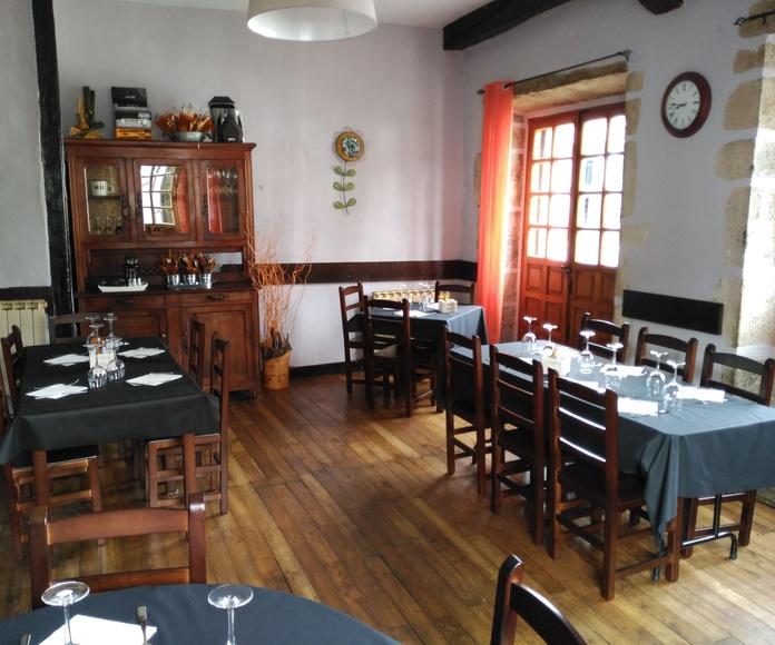 Eventos y pequeñas celebraciones: Servicios de Restaurante La Villa Igantzi