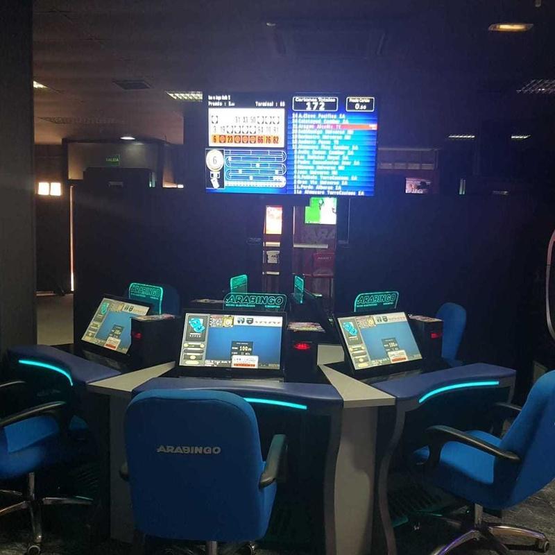Bingo electrónico: Salones de juego de Serrano Gaming