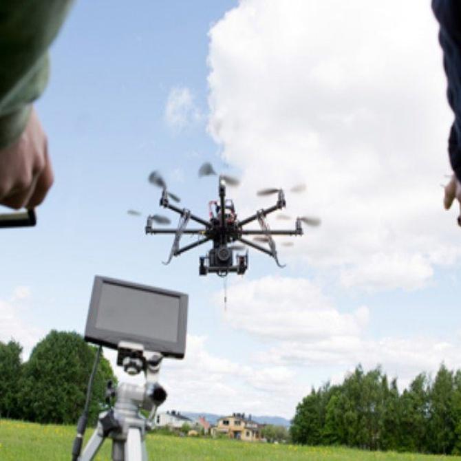 Drones para la medición topográfica
