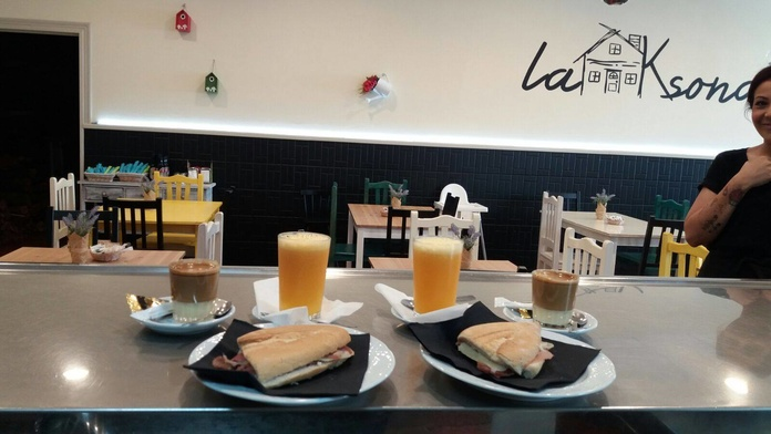 Desayunos: Nuestros platos  de Restaurante La Ksona