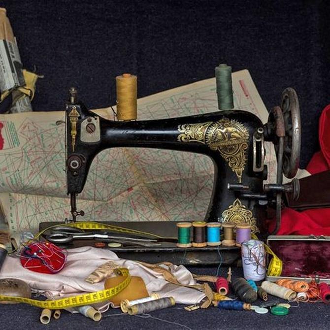 ¿Sabes quién inventó la máquina de coser?