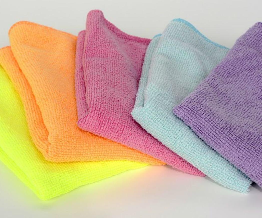 La microfibra y sus puntos fuertes en la limpieza