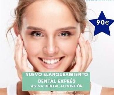 Nuevo Blanqueamiento dental en consulta