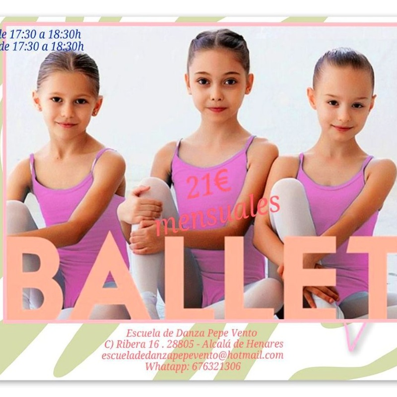 Ballet Infantil: Clases de Escuela de Danza Pepe Vento