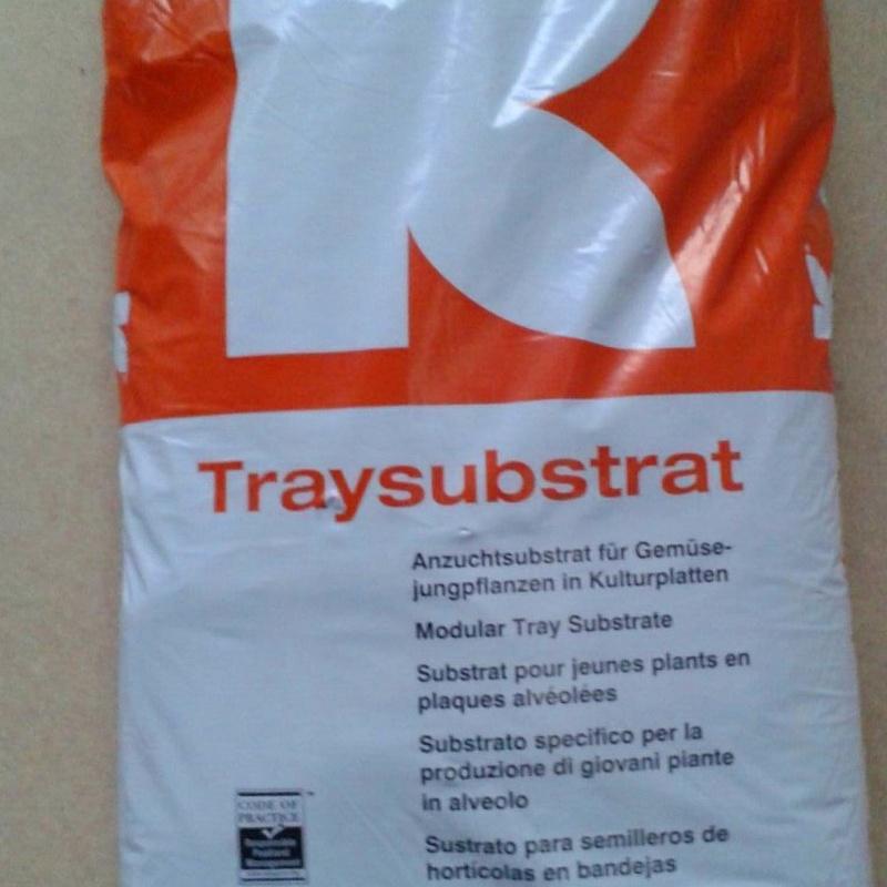 Sustrato para semilleros de hortícolas en bandeja