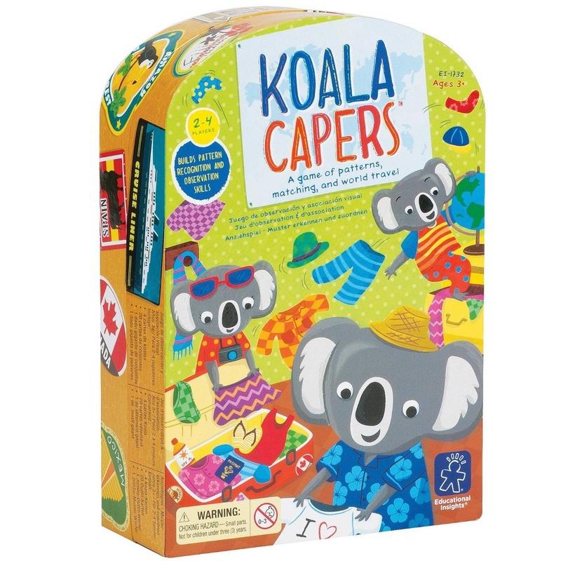 JUEGO DE CARTAS KOALA CAPERS. LEARNING RESOURCES