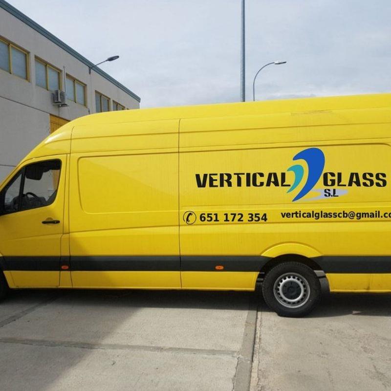 Unidades móviles: Reparación de Lunas de Vertical Glass