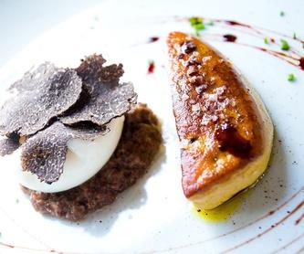 Menú degustación y menú para grupos: Nuestros platos de Can Pineda