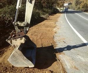 Movimientos de tierra en Cáceres