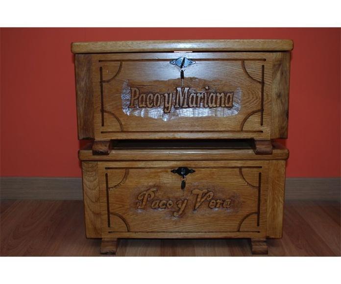 Muebles rústicos de diseño en madera maciza: Servicios de Carpintería Ebanistería Moral Villa
