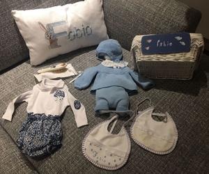 Bienvenida para un bebé