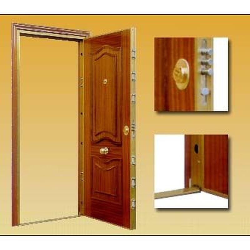Puertas de seguridad: Productos y servicios de Bricosur