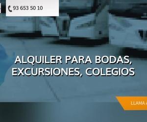 Alquiler de autocares Barcelona | Alianza Travi, S.A.