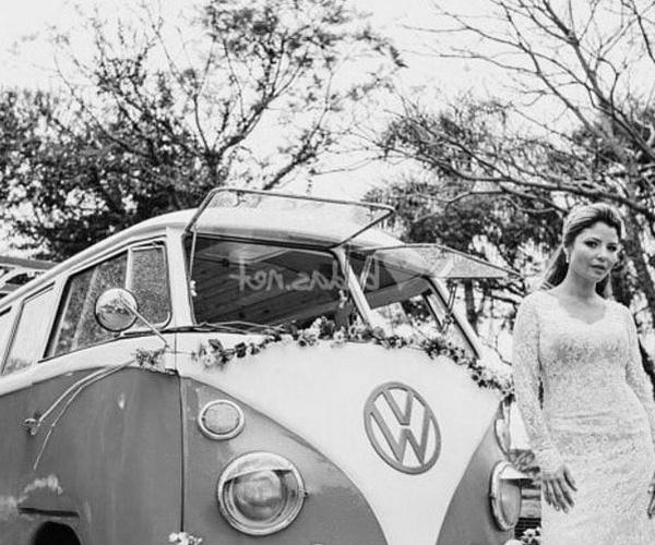 Alquiler de furgoneta Wolkswagen T1 para bodas