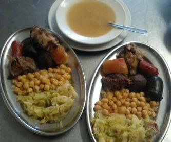 Salmueras: Nuestros platos de Restaurante Agudo