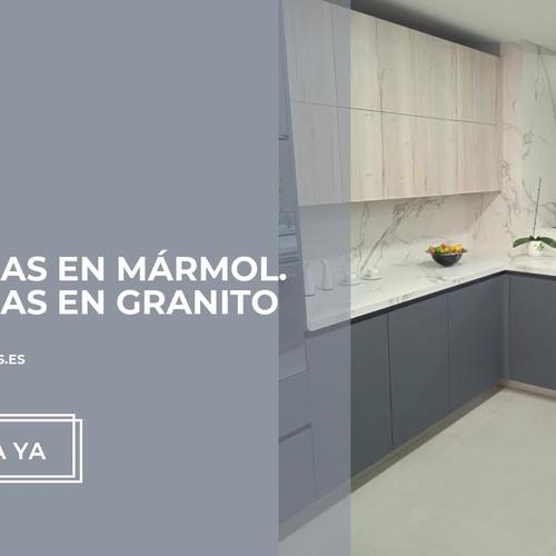 Encimeras Neolith en Tarragona: Mármoles Ibars