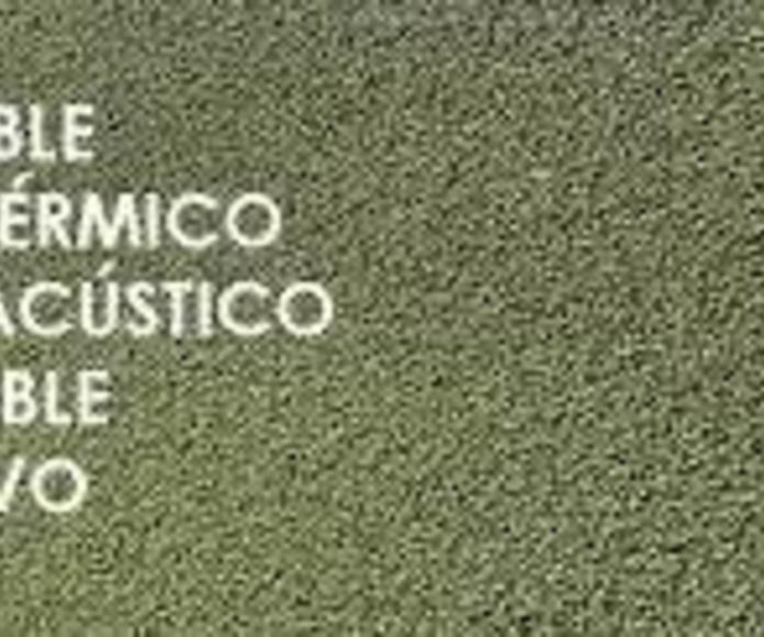 Corcho proyectado Granada