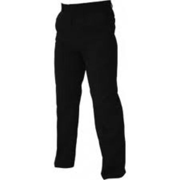 pantalón negro camarero