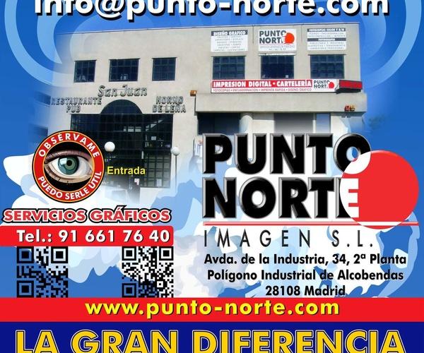 Imprenta digital en Alcobendas | Punto Norte Imagen