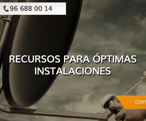 Instalación de antenas en Altea   Costa Blanca Satélite