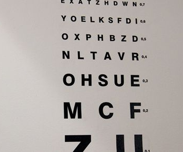 Graduación de vista: Servicios de Centro Óptico Laguna