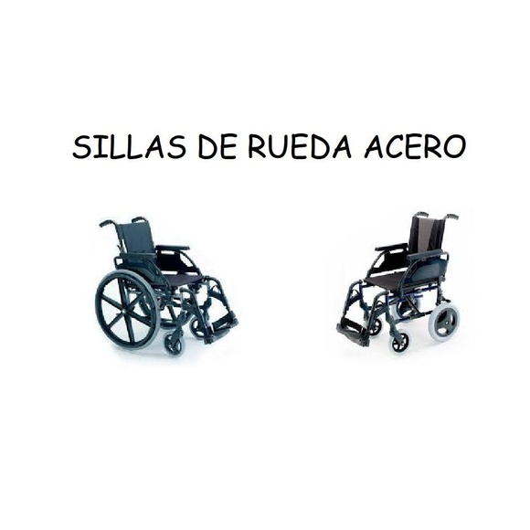 Sillas de rueda acero: Catálogo de Ortopedia Bentejui