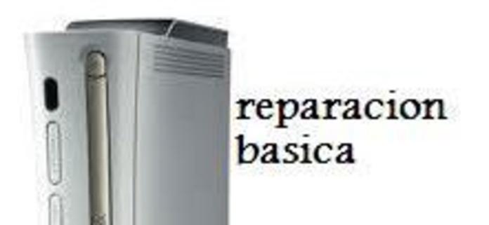 reparacion basica xbox 360