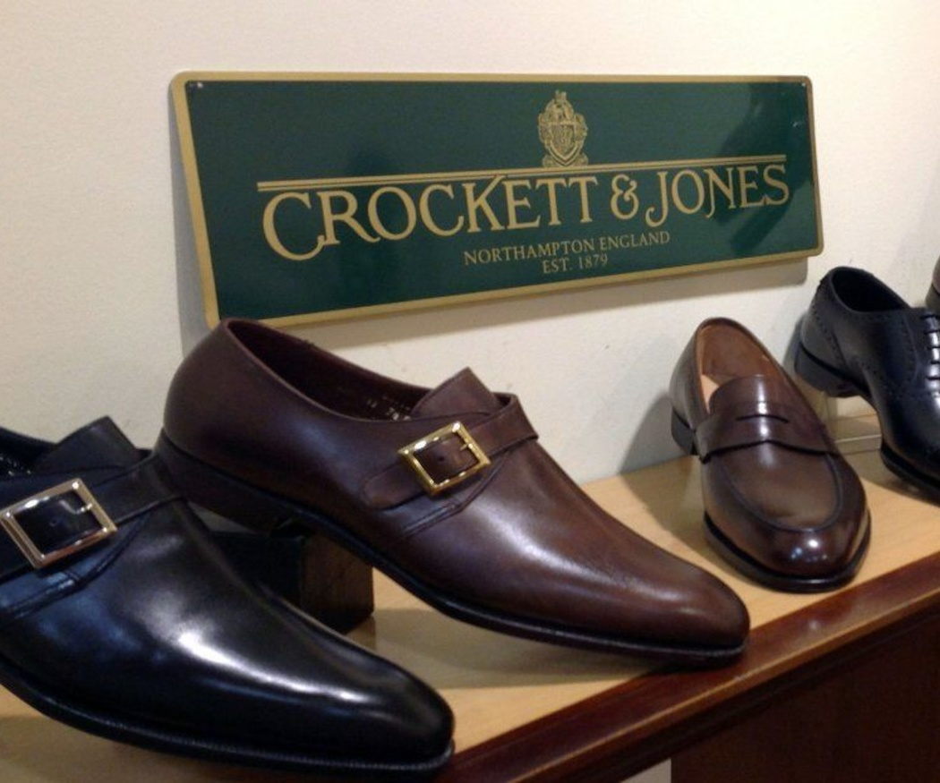 Los zapatos Crockett and Jones