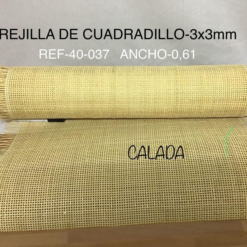 Rejilla de Cuadradillo 3x3 mm. Estilo 2 Bambú S.L. Madrid