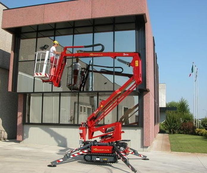 Limpieza y mantenimiento de cristales : Servicios de Limpiezas 2011