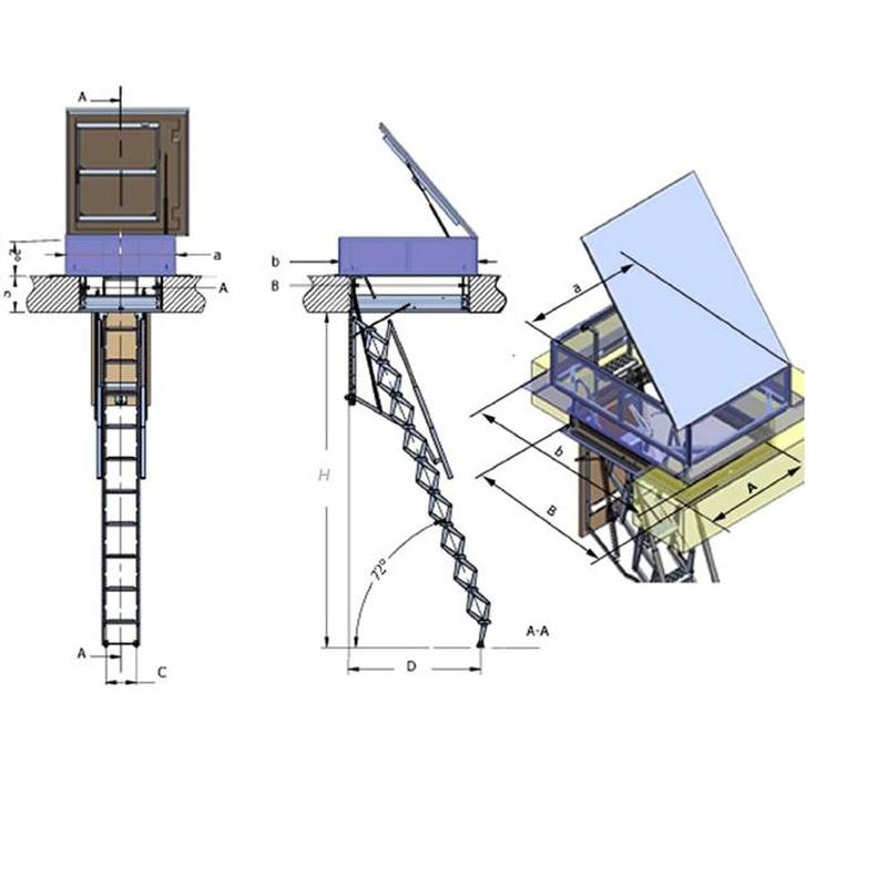 Flexa terraza (datos técnicos)