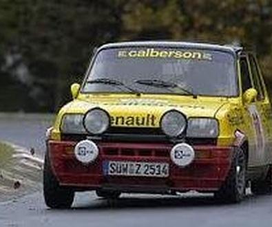 Concentración Renault Clásicos GT Turbo en Tosa de Mar