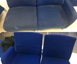 Limpieza y desinfección de sofa,sillas,sillones,butacas,paredes enteladas..
