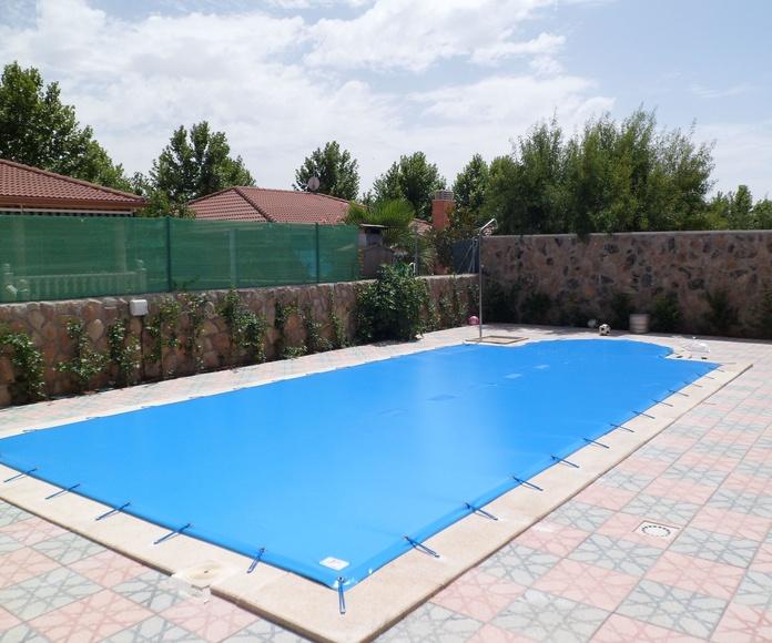 Lonas de piscina | Toldos del Olmo