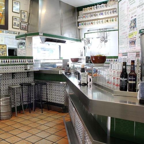 Bar de tapas en Prosperidad, Madrid