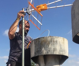 Instalación de porteros y videoporteros: Nuestros servicios de Sando' s Electricidad y Telecomunicaciones