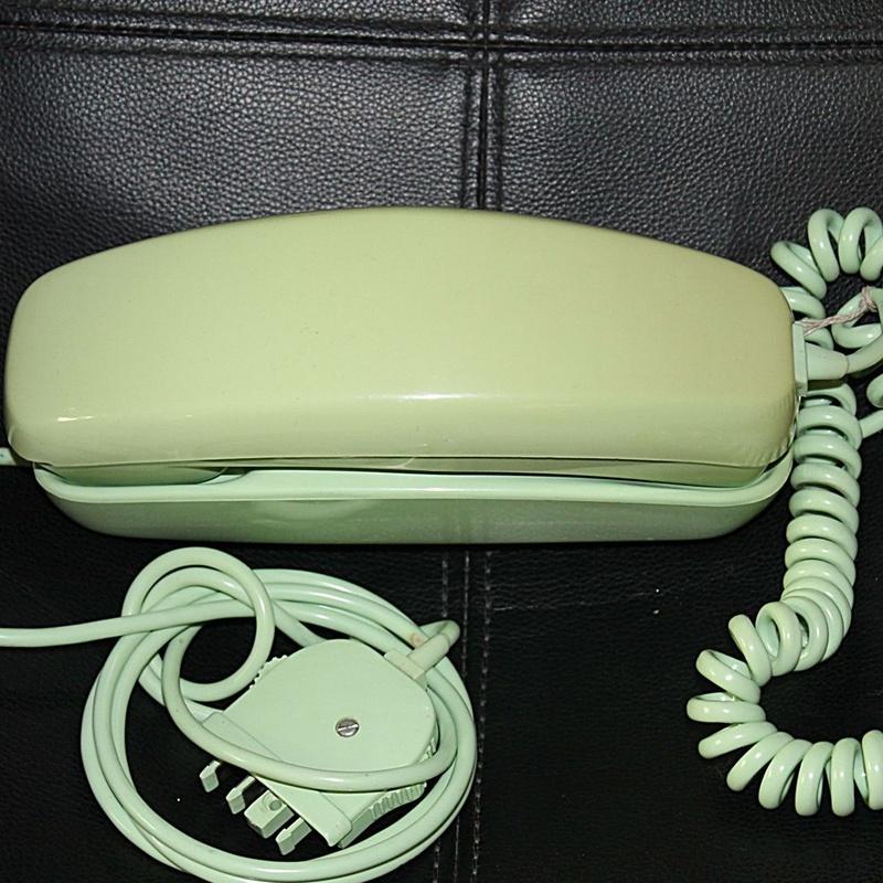 Teléfono de mesa góndola verde: Artículos  de Ruzafa Vintage