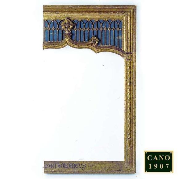 Colección histórica de marcos: Servicios de Cano 1907
