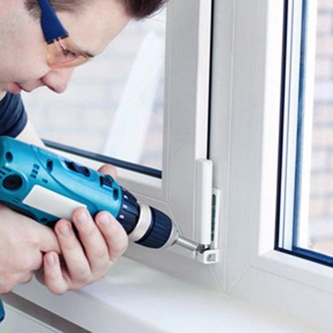 El escaso mantenimiento de las ventanas de aluminio