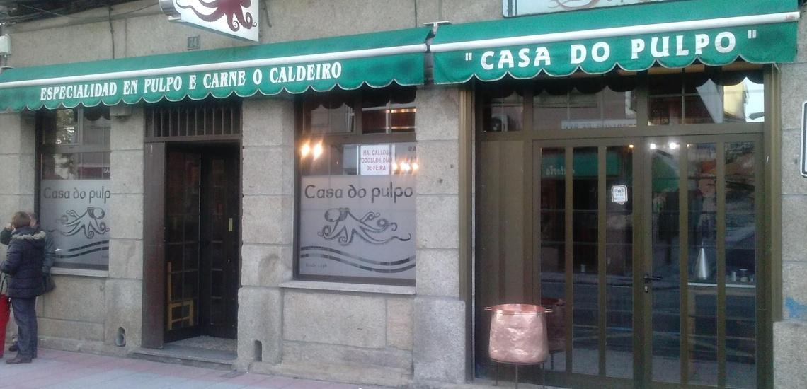 Restaurantes para celebraciones en Verín en A Casa do Pulpo
